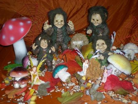 Een trollenfamilie!